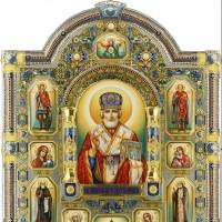 Святой Николай - подарок богатому мужчине. Цена 8,4 млн. рублей