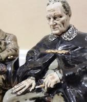 Президент Америки скульптура фарфор в наличии Рузвельт