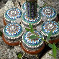 Эксклюзивный подарок кубок наутилус с эмалью