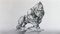скульптура гориллы