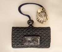 кошелёк две крысы на створке раковины моллюска абалона
