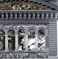 окна модель здания парламента Берна