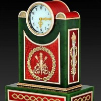 Современные часы в стиле Фаберже