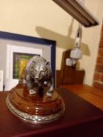 Подарочный медведь из серебра