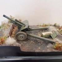 Миниатюрная действующая пушка-гаубица