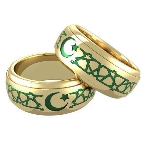 мусульманские золотые кольца