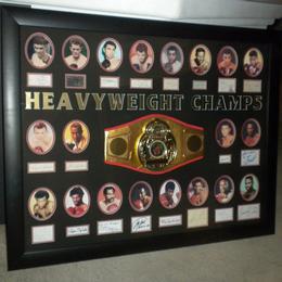 Автографы супер тяжеловесов по боксу