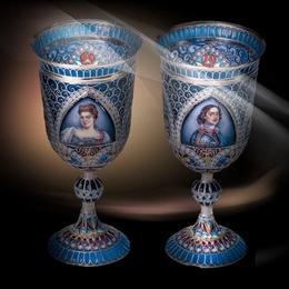 Роскошный подарок - царские бокалы