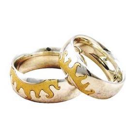 Этническое обручальное кольцо