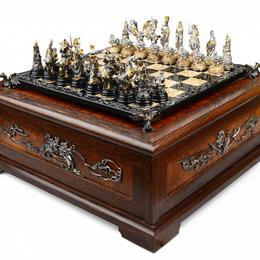 Дорогие шахматы Королевские