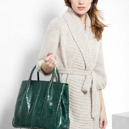 Кожаная сумка из крокодила (Bloom Bag)