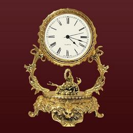 Часы из бронзы Скорпион