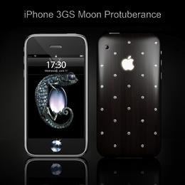 iPhone 3GS Moon Protuberance