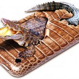 Шикарный подарок iPad с кожей аллигатора