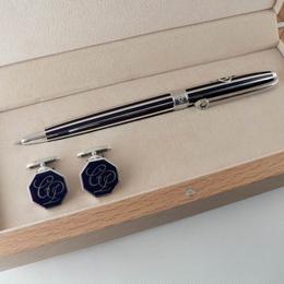 Именная ручка и запонки