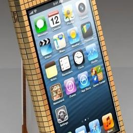 iPhone Full Gold 18Ct