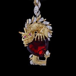 """Подвеска """"Сердце дракона"""""""