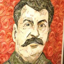 Портрет Сталина из советских денег