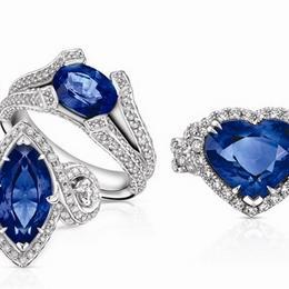 Небесно-голубая свадебная коллекция от Larry