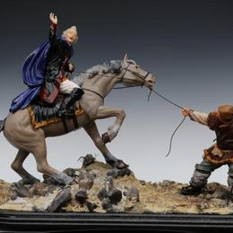 """Композиция """"на коне"""""""