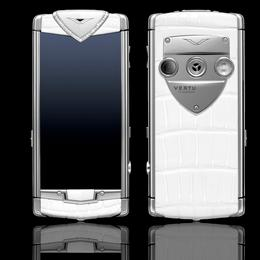 Vertu Constellation T Diamonds White Alligator