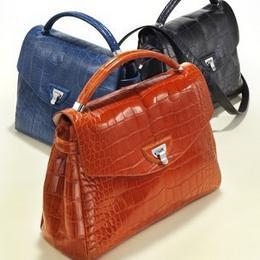 Женские и мужские брендовые сумки из крокодила