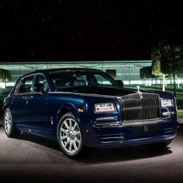 Представлен бриллиантовый Rolls Royce Phantom