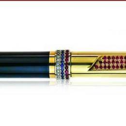 """Ручка из золота """"Триколор"""""""