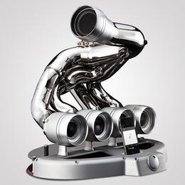 Симфония высоких децибел: гаджет iXOOST iPHONE DOCK, сделанный на основе выхлопной трубы авто-участника F1