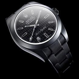 Карл Лагерфельд + Rolex = новая модель часов Rolex Oyster Perpetual MIilgauss