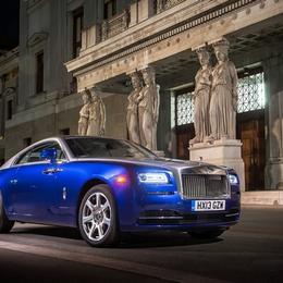 Rolls Royce Wraith получил заслуженный титул «Автомобиль года» на BBC Top Gear Magazine