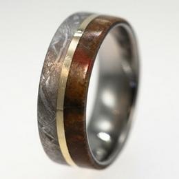 Во веки веков – обручальные кольца из кости динозавра
