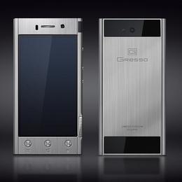 Gresso Radical - смартфон на базе Android, выполненный из титана