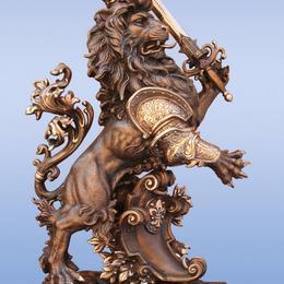 Король лев (бронза, h=33см)