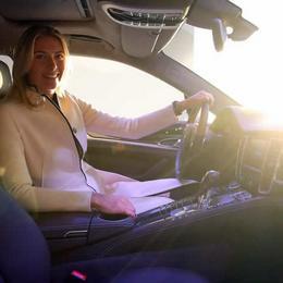 Panamera GTS – индивидуальное авто для Марии Шараповой