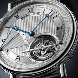 Breguet Classique Grande Complication –одни из самых тонких часов с турбийоном