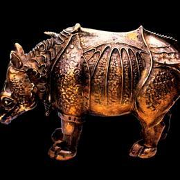 Бронзовый носорог Дюрера