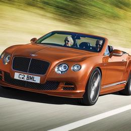 2014 Continental GT – самый быстрый Bentley из когда-либо созданных