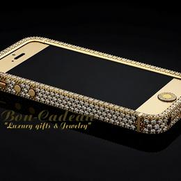 iPhone 5 Full Diamonds & 18 Gold