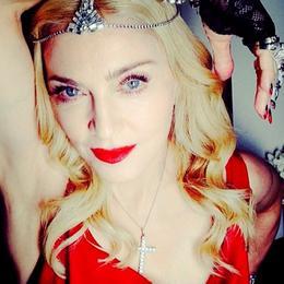 Мадонна сияет тысячью карат на afterparty после вручения Оскара