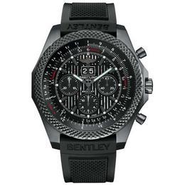 Breitling выпускает хронограф 6.75 Midnight Carbon в честь самого быстрого Bentley