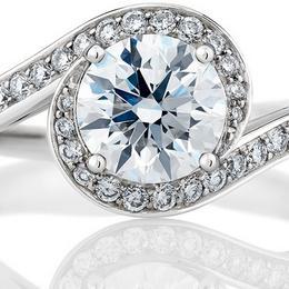 Обручальное кольцо De Beers – выражение истинной гармонии любви