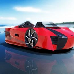 Морской Ferrari – Mercier-Jones Supercraft – будет самым быстрым судном на воздушной подушке