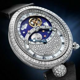 Breguet Reine De Naples Jour/Nuit – бриллиантовый блеск высокого часового искусства