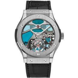 Часы Hublot Classic Fusion Tourbillion Vitrail – слияние искусства и технологий