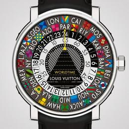 Louis Vuitton's представляет на Baselworld новую модель Escale Worldtime
