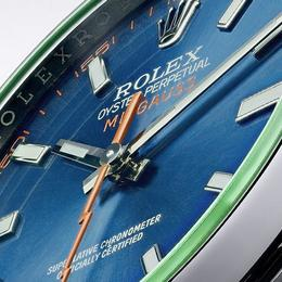 2014 Rolex Oyster Perpetual Milgauss завораживает синим электрическим циферблатом