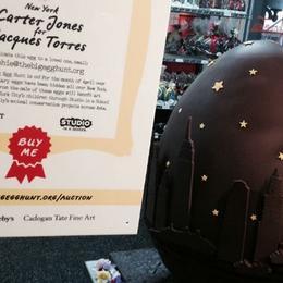 Самое дорогое шоколадное яйцо выставлено на продажу