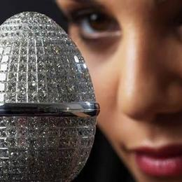 Самое дорогое пасхальное яйцо инкрустировано 1000 бриллиантов и стоит 5 млн евро