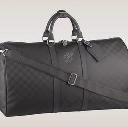 Louis Vuitton Damier Carbon: дорожная сумка с новейшим покрытием